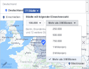 Facebook GEO Targeting